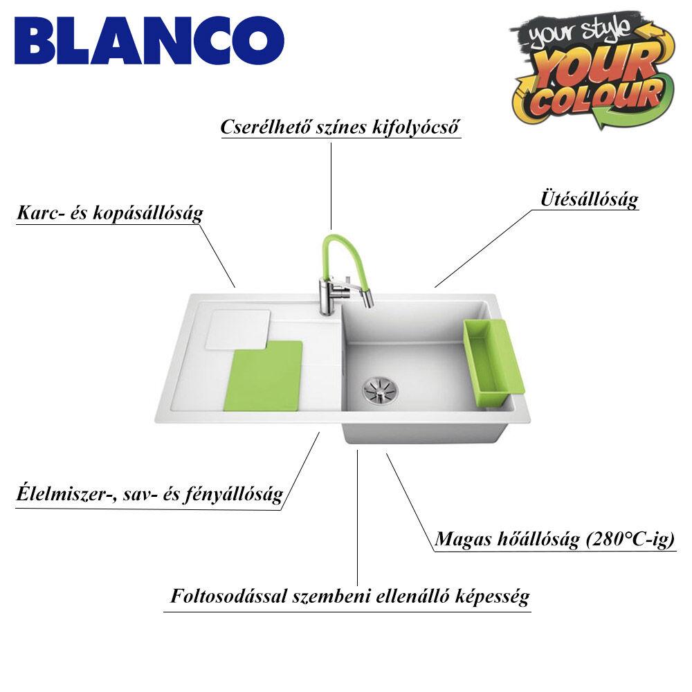 Blanco SITY XL 6S mosogató tulajdonságai