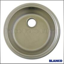 Blanco Rondosol C rozsdamentes mosogató