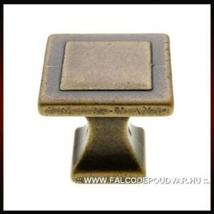 Fogantyú RF 115-000 24x24 Antikolt bronz