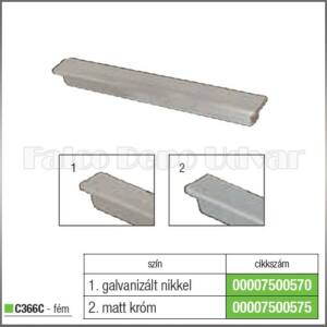 Fogantyú C366C-31 64-96mm Matt króm