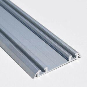 Tolóajtó ProALU Elegant plus alsó sín 2fm Alumínium