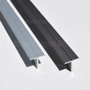 Tolóajtó ProALU T-profil 18mm laphoz 3fm Alumínium