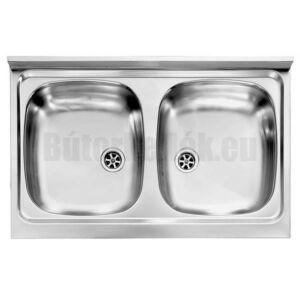 CM Mondial teletetős mosogató 031032 2med 800x500mm