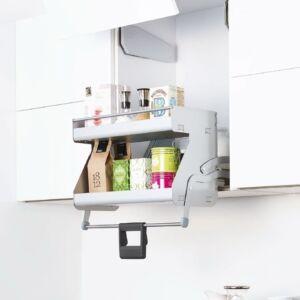 Kesseböhmer iMove lehajtható kétpolcos tároló 500mm Fehér