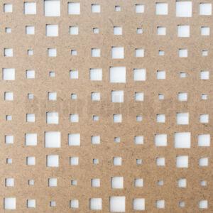 Perforált lemez Grezzo natur Hdf TITAN perforációval 1520x605x3mm