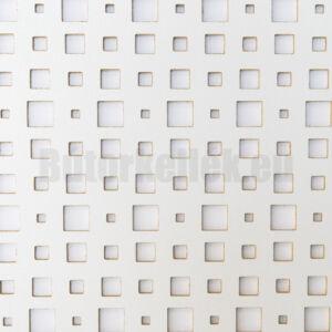Perforált lemez Laccato-Hdf ODIN Krono 101 Fehér 1400x510x3mm