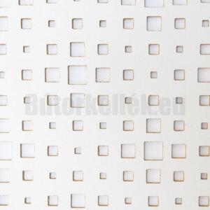 Perforált lemez Laccato-Hdf TITAN Krono 101 Fehér 1400x510x3mm