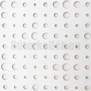 Perforált lemez Laccato-Hdf VEGA Krono 101 Fehér 1400x510x3mm