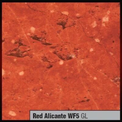 Munkalap vízzáró profil WF5 GL Alicante Vörös márvány