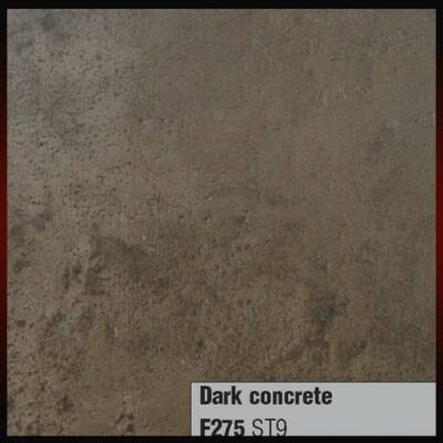 Munkalap vízzáró profil F275 ST9 Dark Concrete