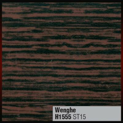 Munkalap vízzáró profil H1555 ST15 Wenge