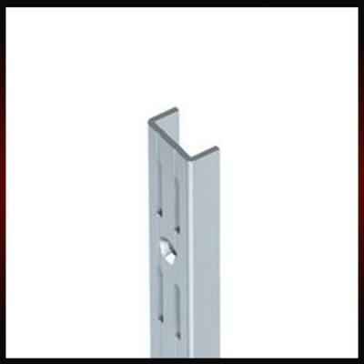 Metall fali konzol 2 soros falisín 96cm Fehér