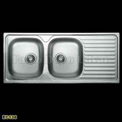 Livinox EC-138DK Szövetmintás mosogató