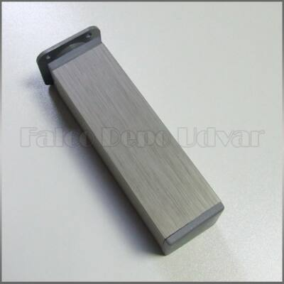 Szekrényláb 150mm Inox E-IK 15