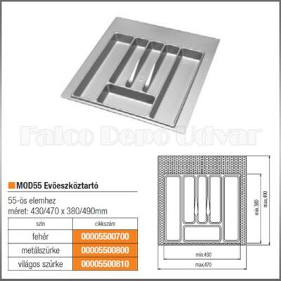 Evőeszköztartó MOD 55 490x470mm Fehér