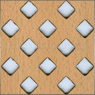 Perforált lemez Laccato Hdf Franz 381 Bükk 1400x510x3mm