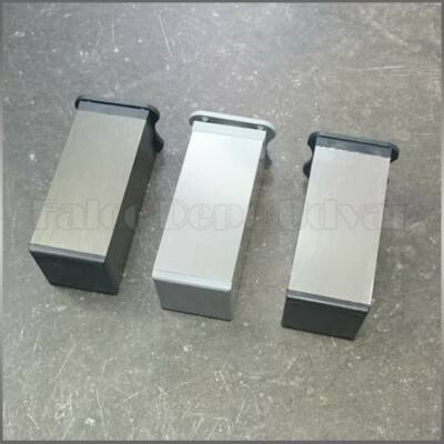 Szekrényláb MZ-027-100 BSN Szálcsiszolt Nikkel