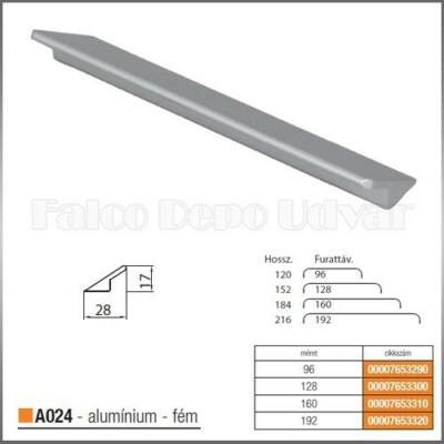 Fogantyú A024-192 Aluminium