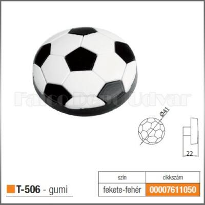 Fogantyú T-506 gomb Focilabda fekete