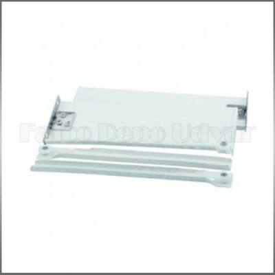 STRONG fióksín fém fiókoldallal H118-400mm Fehér
