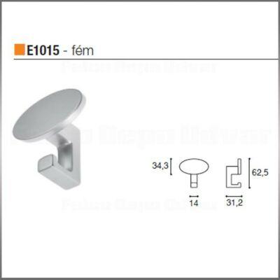 Fogas akasztó E1015 Nikkel