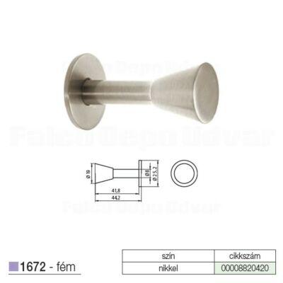 Fogas akasztó 1672-ZN21 Nikkel