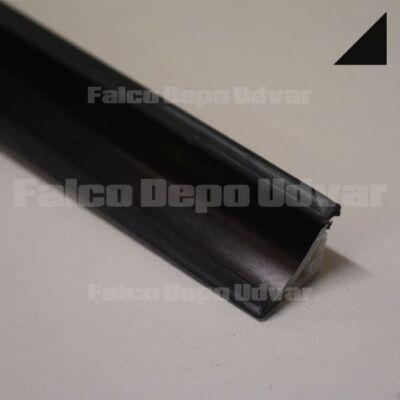 Munkalap vízzáró profil Fényes fekete 3fm