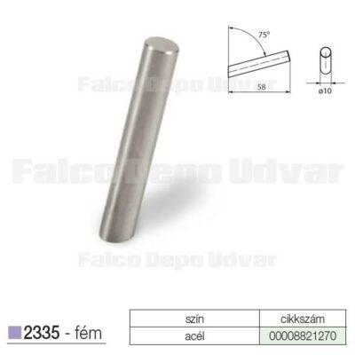 Fogas akasztó 2235F-N1V3S 3db/csomag Acél