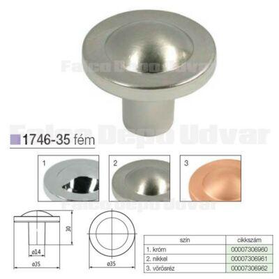 Fogantyú 1746-35ZN21 Nikkel 35mm