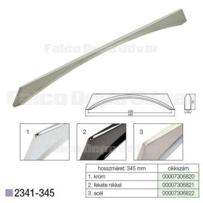 Fogantyú 2341-345ZN27 Acél 320mm