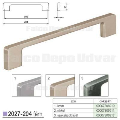Fogantyú 2027-204ZN21 192mm Nikkel