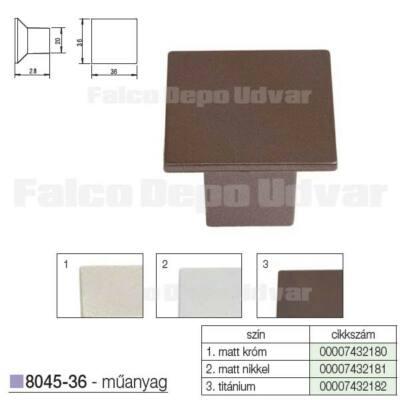 Fogantyú 8045-36 MV116 36mm Titánium