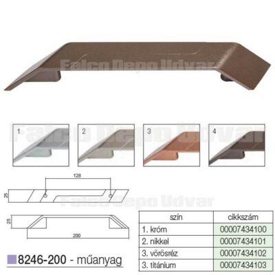 Fogantyú 8246-200 MV116 128mm Titánium