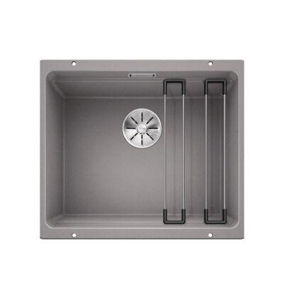Blanco Etagon 500-U Alumetál mosogató 1med sínnel 500x400mm exc. nélkül 522229
