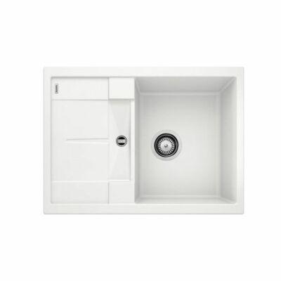 """Blanco Metra 45S Compact Fehér 1med+mini.cs Silgránit mosogató 3 1/2"""" 680x500mm exc.nélkül 519565"""
