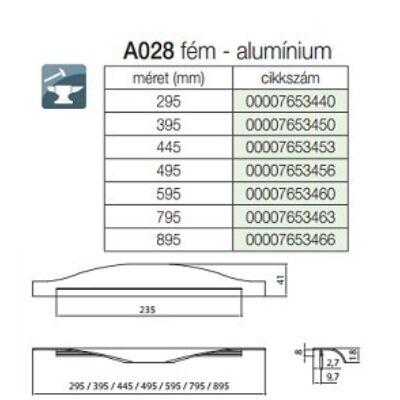 Fogantyú A028-445 445 Aluminium