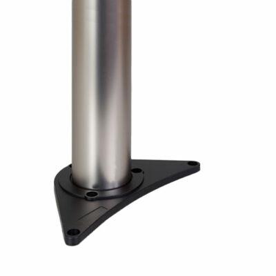 Asztalláb 870x60mm Gyöngy nikkel