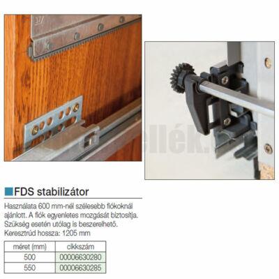 Fiókcsúszó FDS Stabilizator