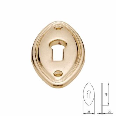 Fogantyú RF 969-46 ZN5 RÉZ  kulcscím