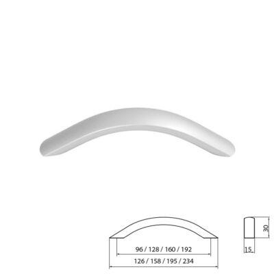Fogantyú A021-096 Aluminium