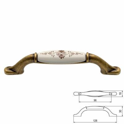 Fogantyú RF M50-01-B1-D1G 96 Antik firenze-barna motivum