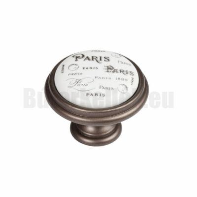 Fogantyú P77.00.q4.g7g Barna-Paris 35mm gomb
