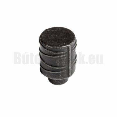 Fogantyú Wpo784.017.00t2 Antik fekete 17mm gomb