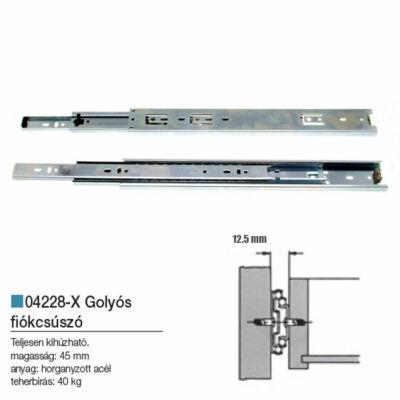 Golyós Fiókcsúszó 400-45mm 04228