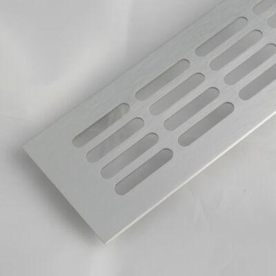 Szellőzőrács szögletes 80x250mm Alumínium