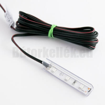 Üvegpolc világító LED NSP50 Piros