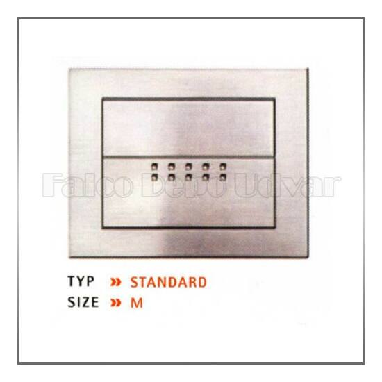 Fogantyú E-motion handle 112x87mm Matt alumínium