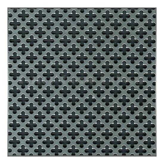 Perforált lemez SAL 02 Alumínium 1000x500mm