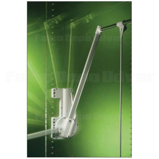 Gardróblift 700-A 750-1150mm 15kg alu
