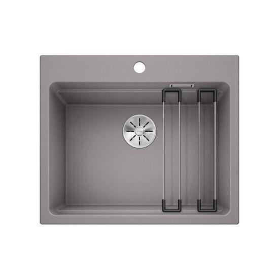 Blanco Etagon 6 PD Alumetál Silgránit mosogató tart., exc.nélkül 600x510mm 524541